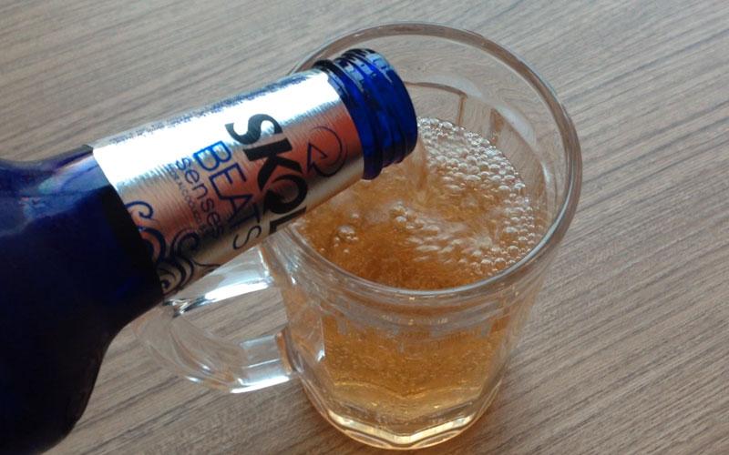 Skol Beats Senses é cerveja? Achei meio diferente