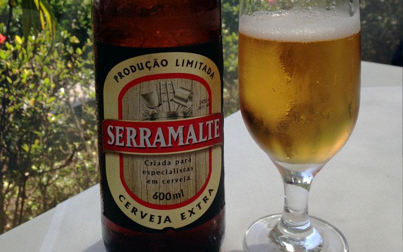 Serramalte, uma breja extra e dourada